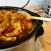 simmering crock pot