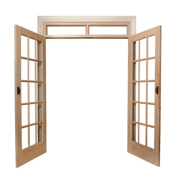Inexpensive french doors to replace sliding glass door for Sliding glass door to french door