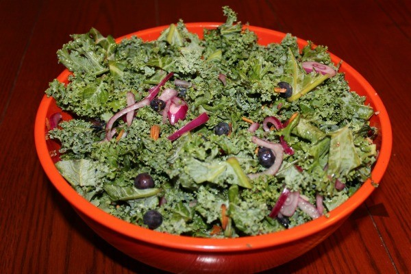 Kale and Blueberry Salad