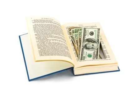 book safe with money inside