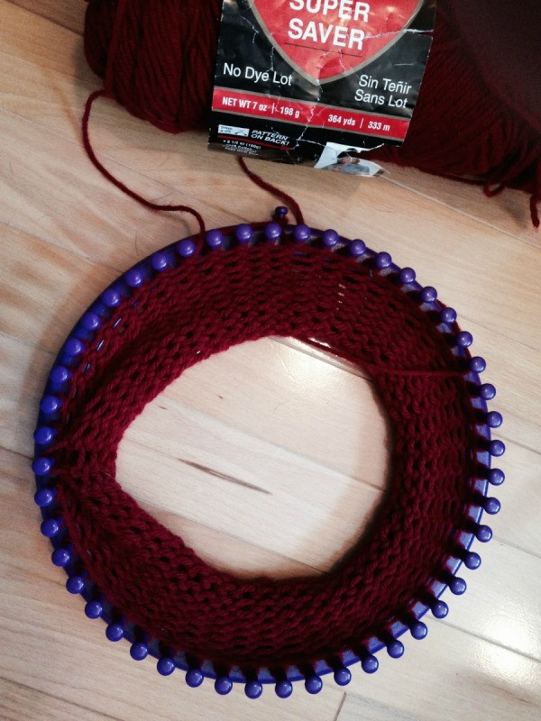 Loom Knitting Increase Stitches : Increasing or Decreasing Stitches on a Knifty Knitter ThriftyFun