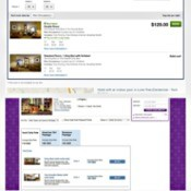 screen shots of hotel info