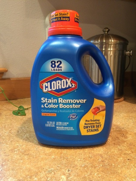 Clorox 2 bottle