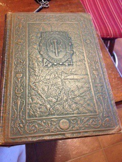 embossed cover of one volume