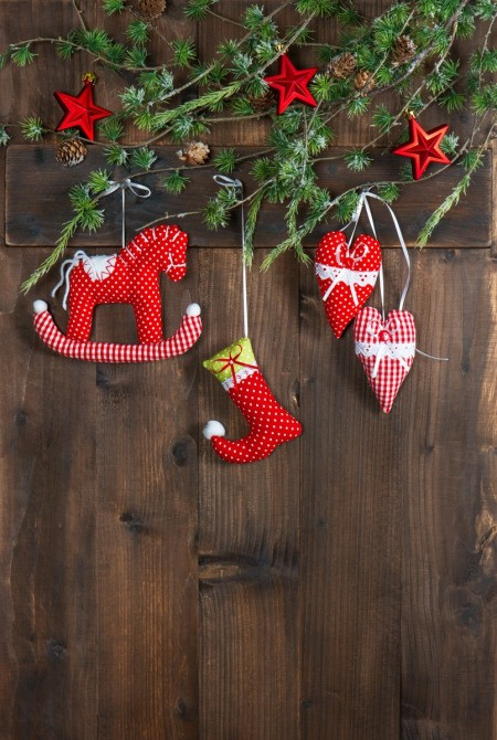 Easy Christmas Decoration Sewing Projects