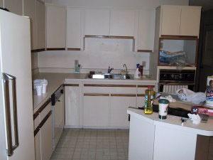 budget kitchen makeover thriftyfun