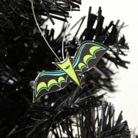 Paper Bat Ornament