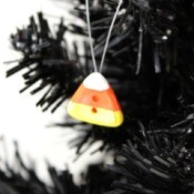 Button Candy Corn Ornament