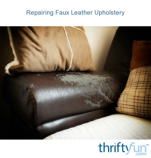 Leather Or Fabric Sofa With Cats: Repairing Faux Leather Upholstery