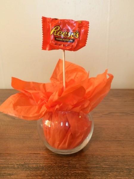 Making A Mini Pumpkin Candy Bouquet Thriftyfun