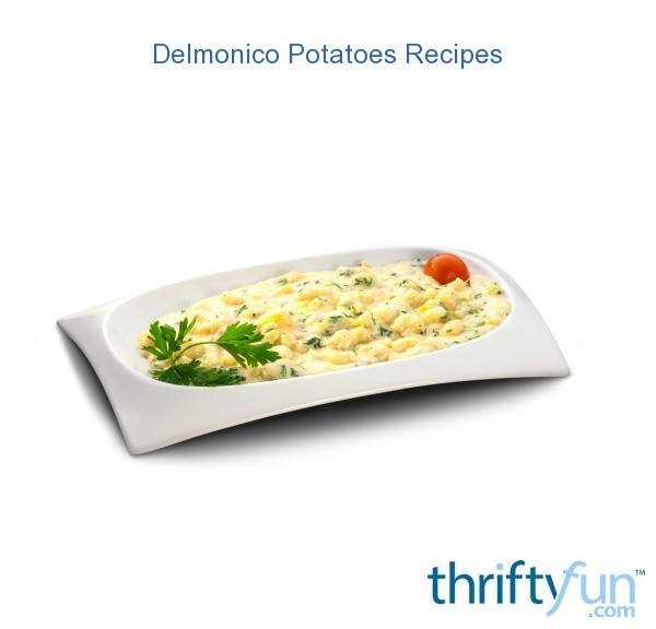 Delmonico Potatoes: Delmonico Potatoes Recipes