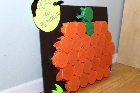 Making A Poke A Pumpkin Game Thriftyfun