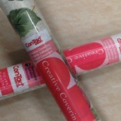 two rolls of Con-Tact Paper