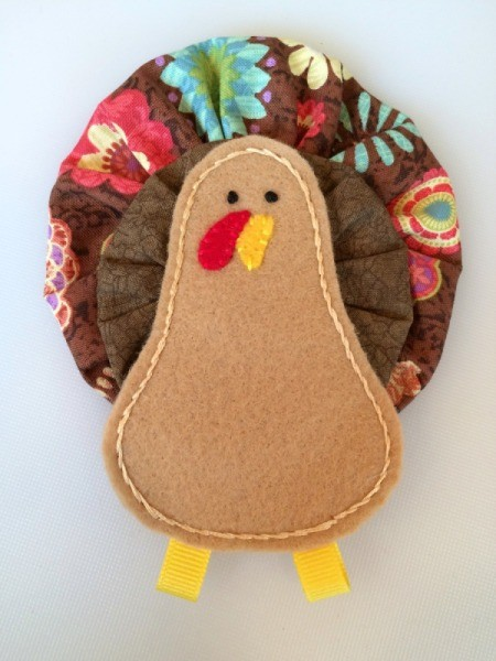 Fabric Yo Yo Turkey