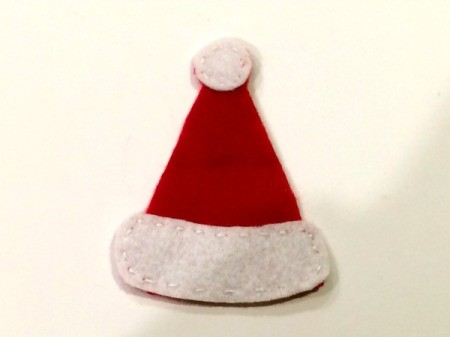 Felt Santa Hat Ornament