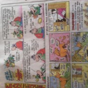 Newspaper Comics for Giftwrap