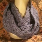 finished cowl on mannequin