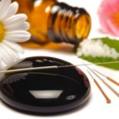 acupuncture and aroma therapy paraphernalia