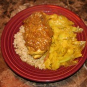 Curry Chicken and Cabbage