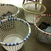 Laundry Baskets for the Family