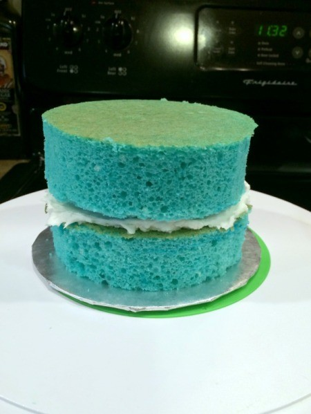 fill and layer cake