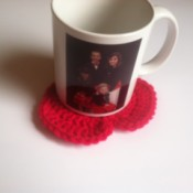 Cup of Love Heart Coasters