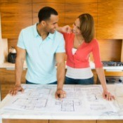 Couple Planning Home Improvements