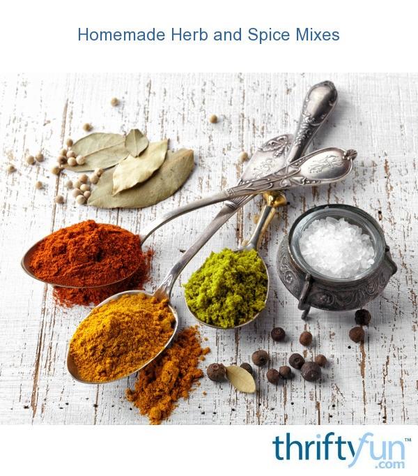 herb spice recipes