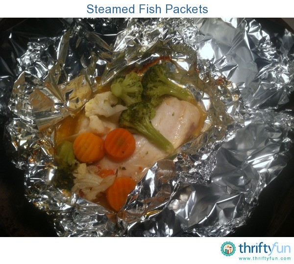Steamed fish packets thriftyfun for Steam fish in oven