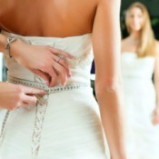 Altering a Wedding Gown