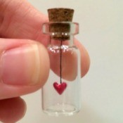 Tiny Heart in a Bottle