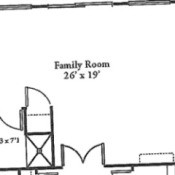drawing of room