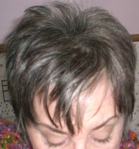 Glam up Gray Hair