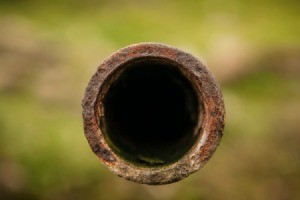 Rust in Water Pipe