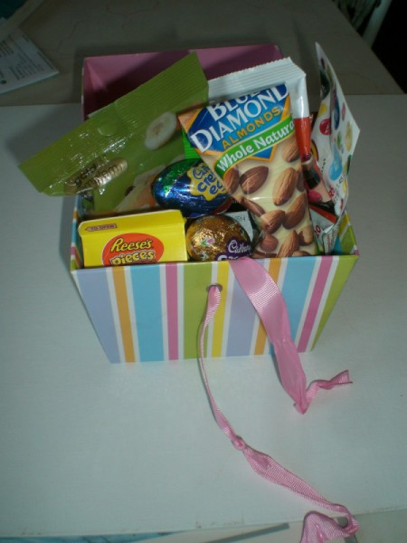 Mailable Easter Basket