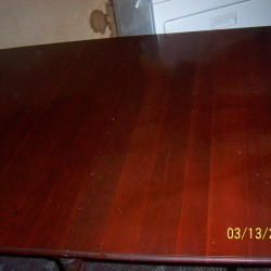 how to get rid of stains on wood table