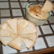 Homemade Hummus with Flavored Tortilla Chips