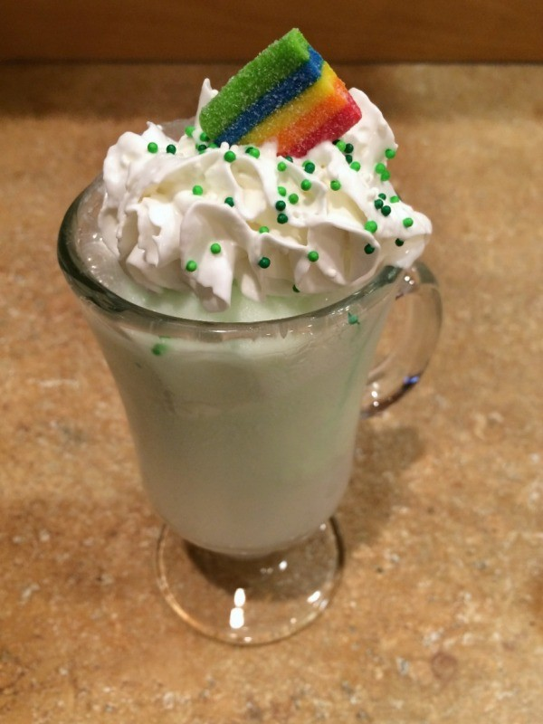 St. Patrick's Day Sherbet Float 2