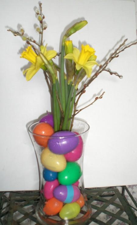Easter centerpiece ideas thriftyfun