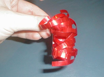 Make a Curly Ribbon Cascade