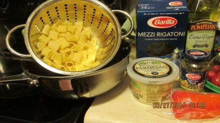 Italian Sausage and Chicken Pasta
