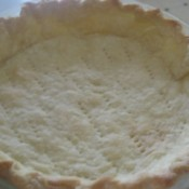 blind baked pie shell
