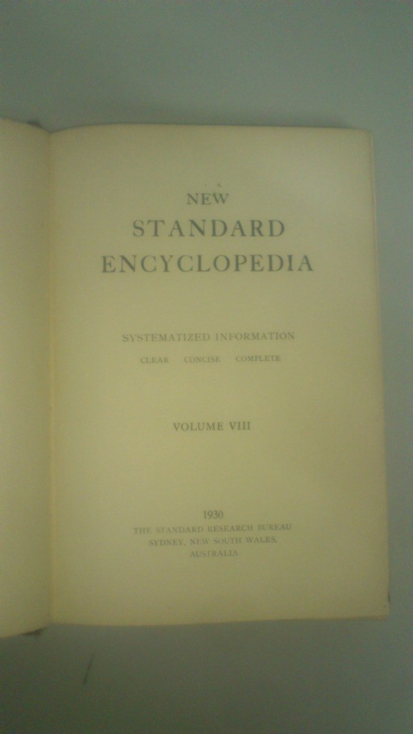Question value of new standard encyclopedia volume viii