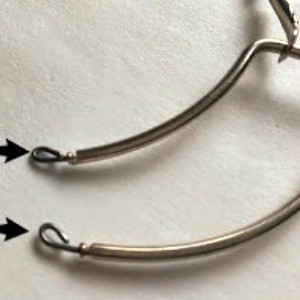 Remade Hoop Earrings