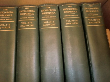 spines of volumes