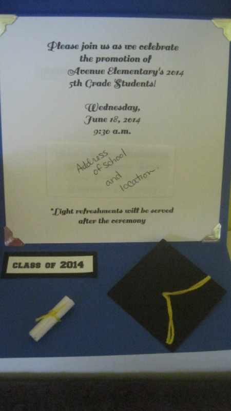 Graduation Invitation/Announcements