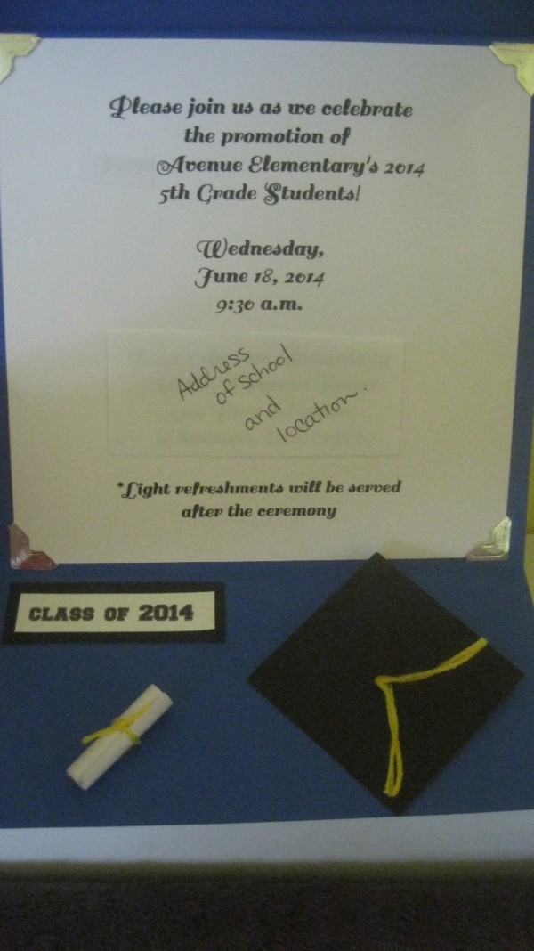 making your own graduation announcements