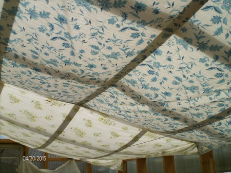 Sheets as Shade Cloth
