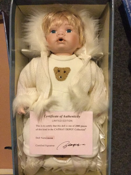 Value of Cathay Collection Porcelain Doll
