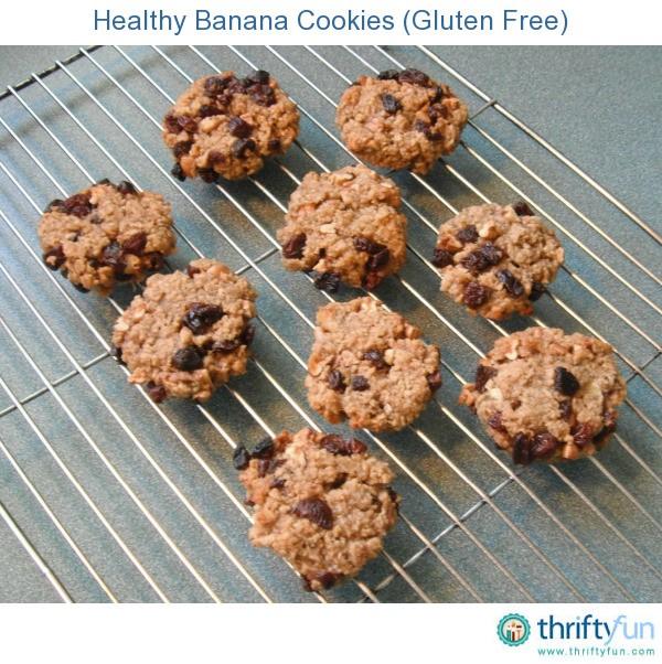 Healthy Banana Cookies (Gluten Free) | ThriftyFun